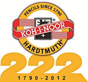 222-ЛЕТНИЙ ЮБИЛЕЙ KOH-I-NOOR HARDTMUTH