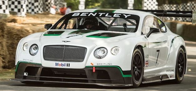 Bentley at Goodwood Festival of Speed, 12 July 2013