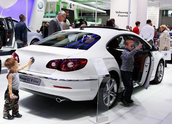 Àâòîìîáèëü Volkswagen Passat, Ìîñêîâñêèé ìåæäóíàðîäíûé àâòîñàëîí