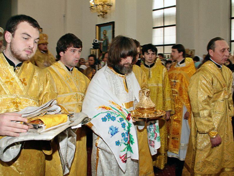 Известный путешественник Федор Конюхов был рукоположен в диаконы