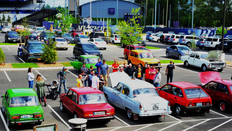 CLASSIC CAR CLUB of PACIFIC («CCCP») – в АМЕРИКЕ