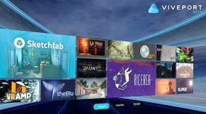HTC ЗАПУСКАЕТ МАГАЗИН VIVEPORT для VR-ПРИЛОЖЕНИЙ