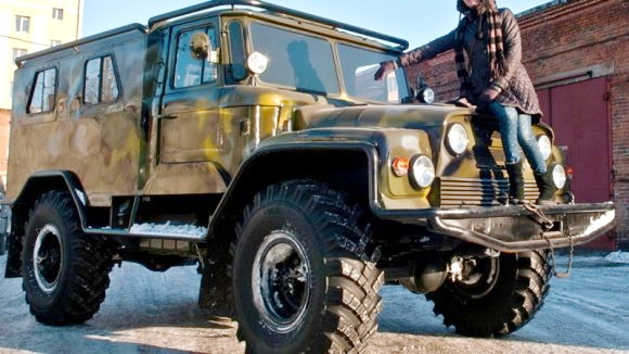 СУПЕРВНЕДОРОЖНИК ГАЗ-66 «МАТРЁНА»