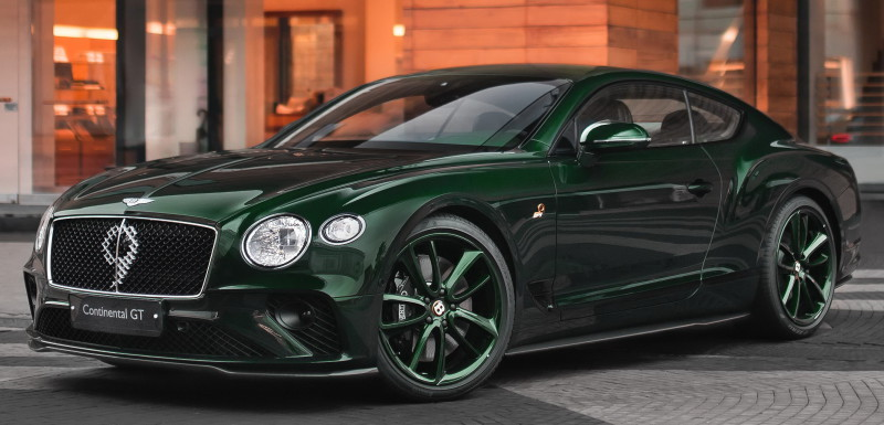 BENTLEY CONTINENTAL GT NUMBER 9 EDITION в МОСКВЕ