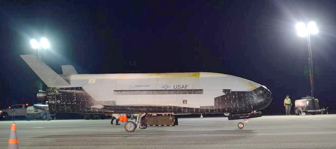 780-ДНЕВНАЯ ЗАГАДОЧНАЯ МИССИЯ X-37B