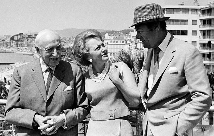 Olivia de Havilland,Andre Maurois,Rex Harrison