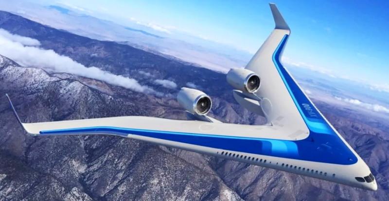 FLYING-V: ЖИДКИЙ ВОДОРОД ВМЕСТО КЕРОСИНА