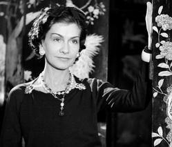Coco Chanel, French top designer. Paris, 1937. LIP
